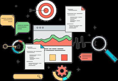 Website content in browser