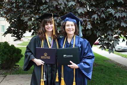 Writer Joan and Mathmatician Janet