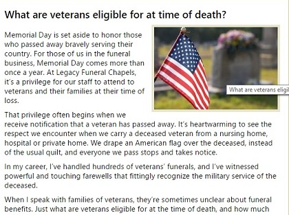 Blog about Memorial Day