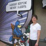 Professional bio written by Joan as newspaper editor
