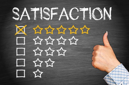 Satisfaction shows in client review