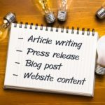 Ghostwriting for blogs, website content