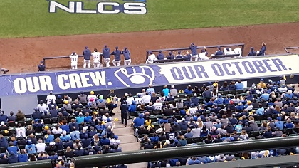 Milwaukee Brewers NLCS  Game 6